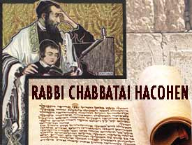 Rabbi Chabtaï Hacohen (5382-5453 ; 1622-1663)