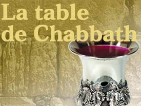 La table de Chabbath